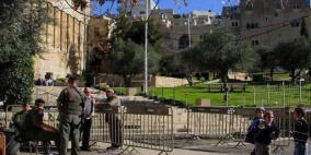 إغلاق الحرم الابراهيمي  أمام المصلين