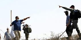 إصابات خلال تصدي المواطنين لمستوطنين عندخان اللبن الشرقية