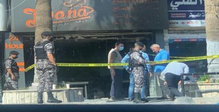 مصرع 3 أشخاص اثر حريق مطعم في عمّان