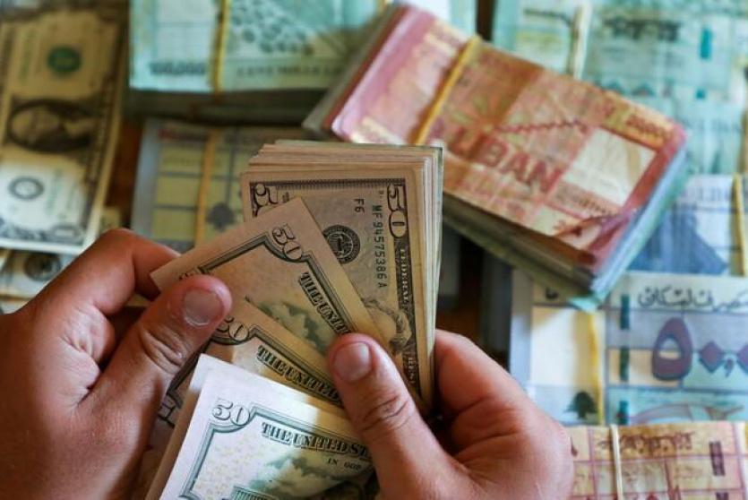 صرف الليرة اللبنانية مقابل الدولار - توضيحية
